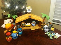 The Nativity Fairy has been adding character's to Katrina Paxon's scene.
