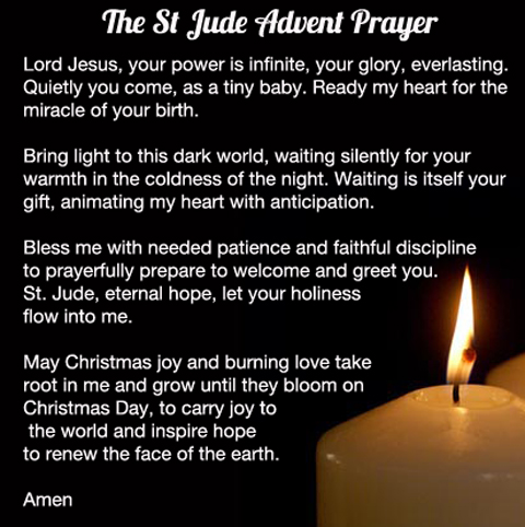 Thursday Advent Prayer