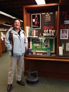 Our own kathrynzj is Geek of the Week! (Did the library staff remember it's Holy Week, or was this a Godincidence?)
