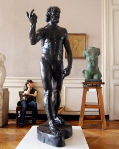 Rodin, Auguste, 1840-1917. St. John the Baptist Preaching, from Art in the Christian Tradition, a project of the Vanderbilt Divinity Library, Nashville, TN. http://diglib.library.vanderbilt.edu/act-imagelink.pl?RC=54190 [retrieved December 2, 2014].