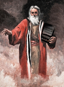 Moses with an iPad