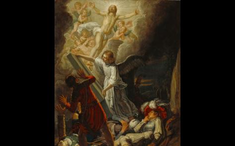 """The Resurrection,"" Pieter Lastman (Dutch, about 1583 - 1633)"