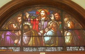 Great Commission in Stained Glass