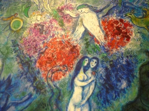 Chagall, Marc, 1887-1985. Adam and Eve, from Art in the Christian Tradition, a project of the Vanderbilt Divinity Library, Nashville, TN. http://diglib.library.vanderbilt.edu/act-imagelink.pl?RC=54653 [retrieved June 2, 2015]. Original source: http://www.flickr.com/photos/abeppu/3816721814/.