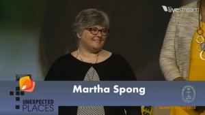 martha accepts antoinette brown award