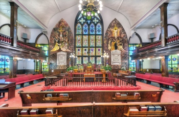 The sanctuary of Mother Emanuel
