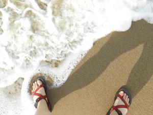 Wearing Sandals Photo by Katya Ouchakof, 2012