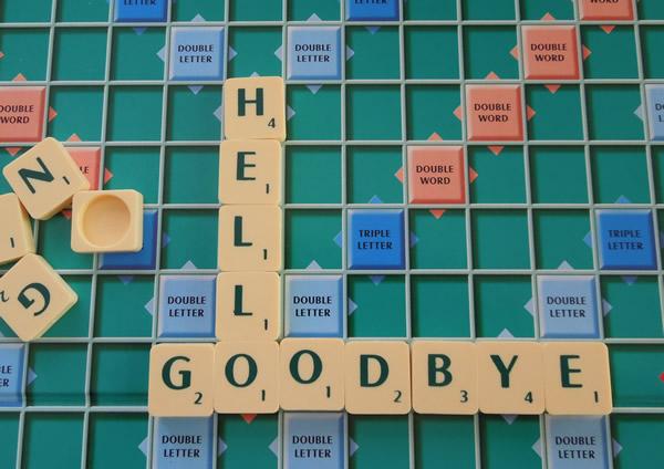 Farewell Friday Five: Hello/Go...