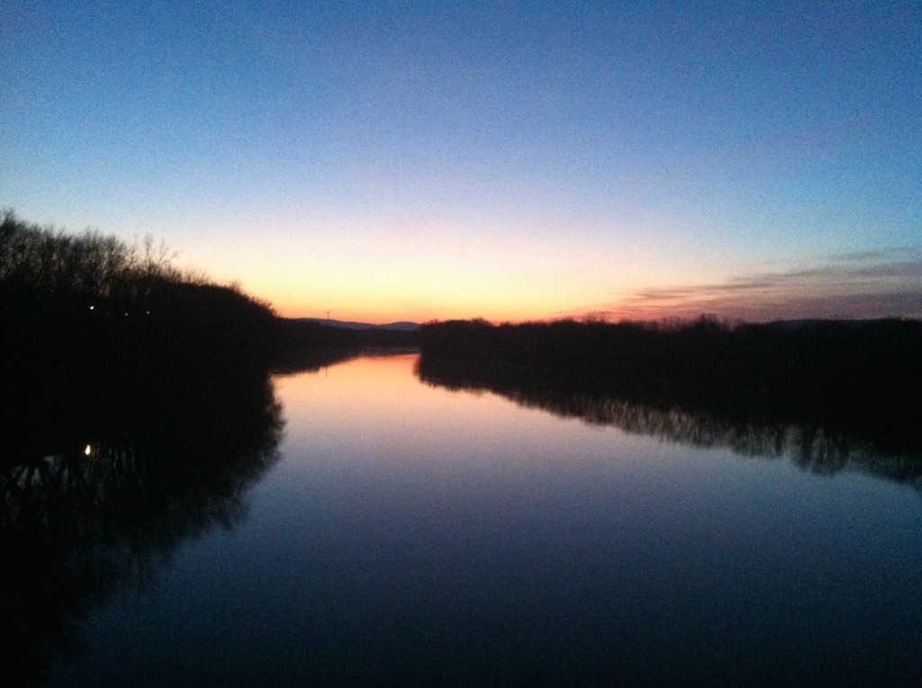 River at Dawn