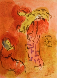 Ruth and Naomi ~ Marc Chagall