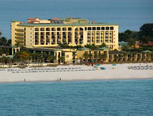 Sirata Resort viewed from the Gulf of Mexico