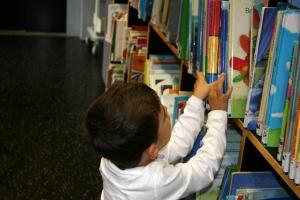 Choosing a book (rgbstock.com)