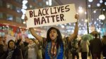 One_Woman_With_Black_Lives_Matter_Sign