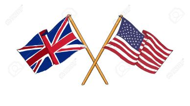UK_USA flags
