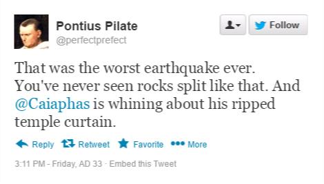 pilate tweet 15