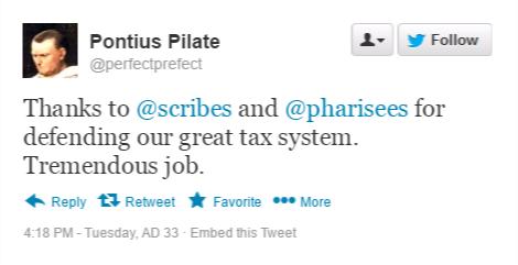 pilate tweet 5
