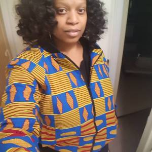 Denise Anderson bomber jacket