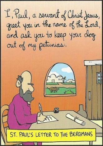 pauls letter to bergmans