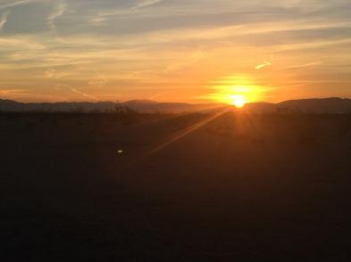 sunrise desert 1217