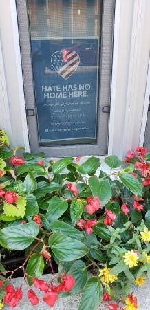 hate has no home