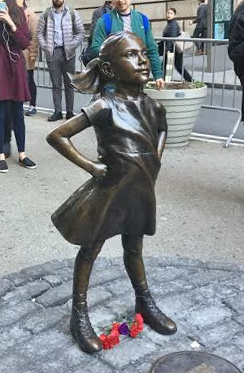 Fearless_Girl_sculpture_by_Kristen_Visbal