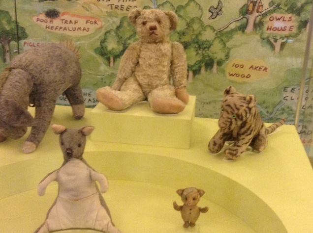 42nd Street Library: AA MIlne gift