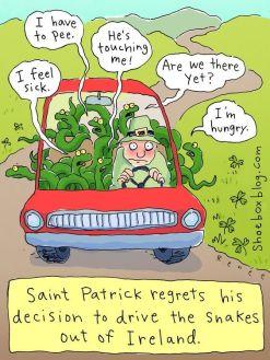 Saint-Patrick-Drives-Snakes