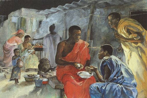 Jesus and the Disciples in Emmaus
