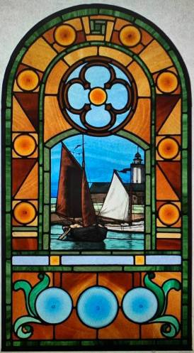 Susan stained glass sea